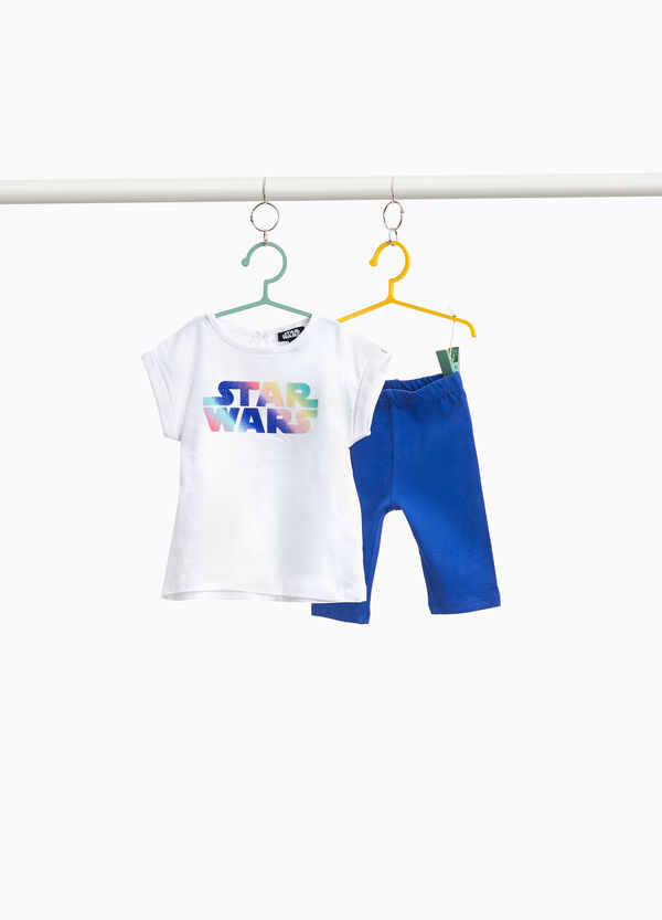 T-shirt cotone stretch Star Wars