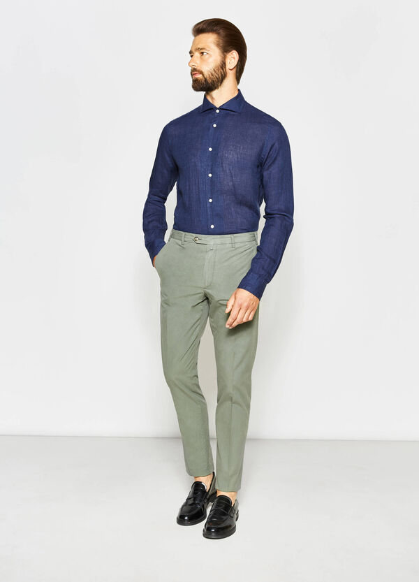 100% cotton Rumford trousers | OVS