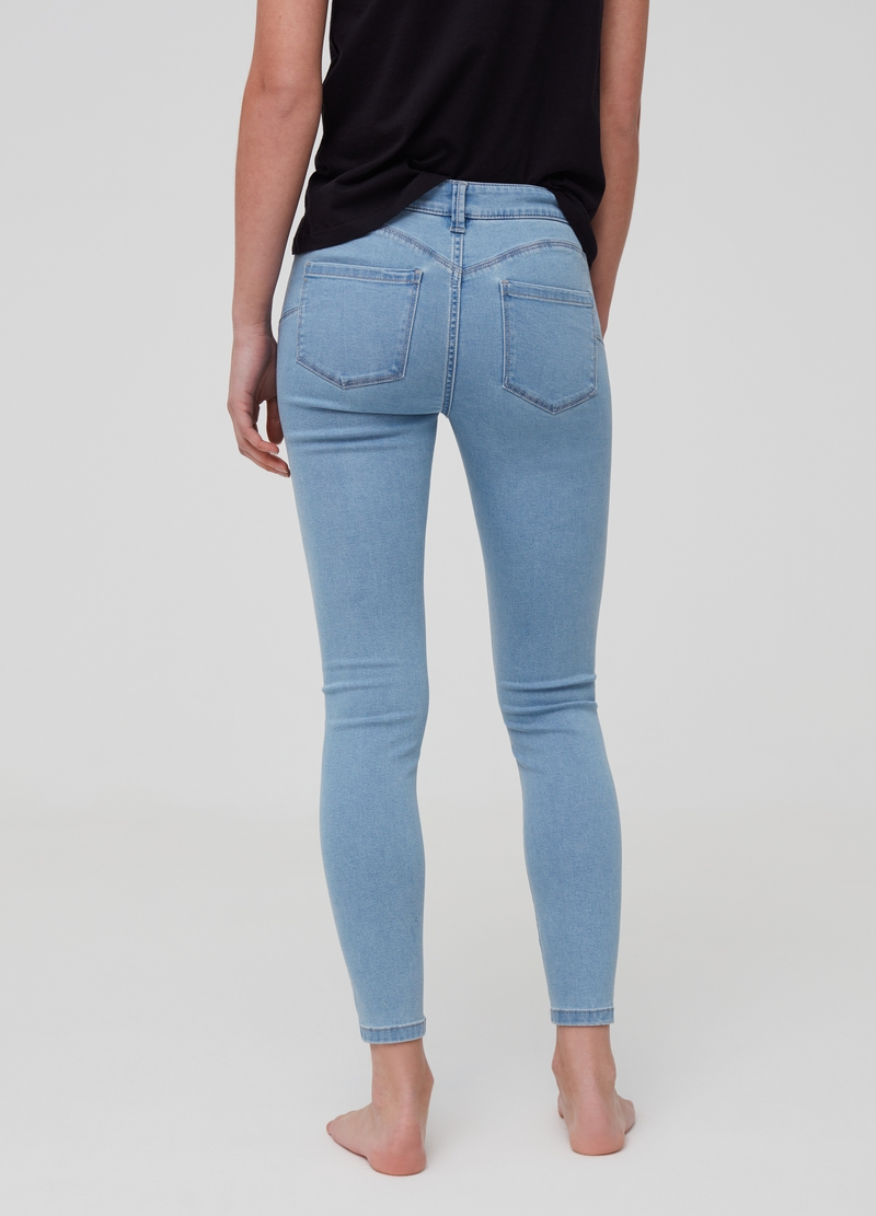 Push-up stretch jeans image number null