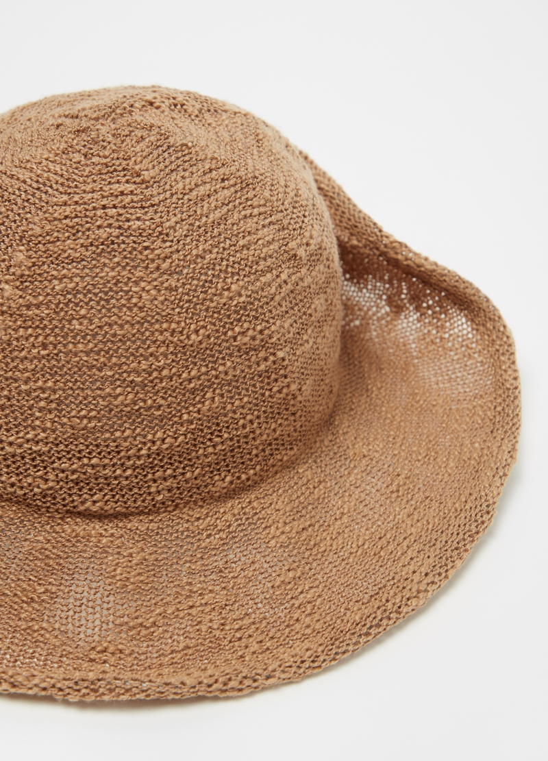 Solid colour hat with wide brim image number null