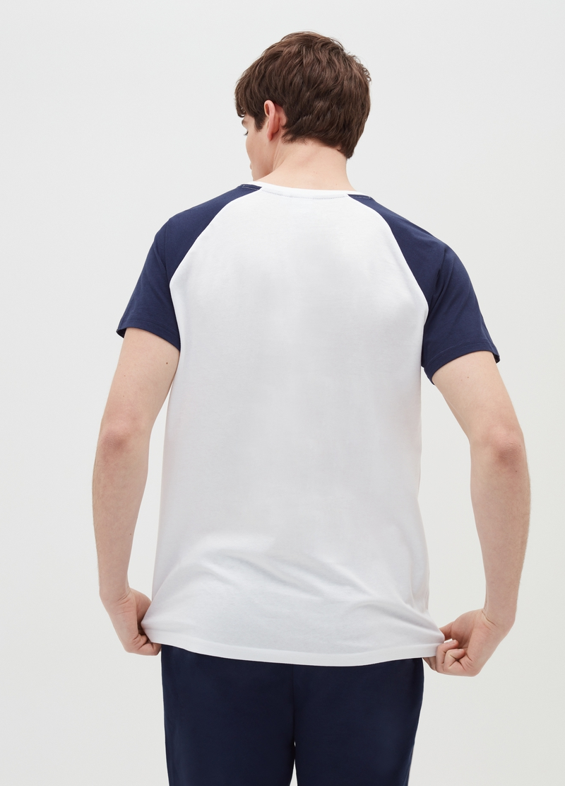 Everlast cotton T-shirt with raglan sleeves image number null