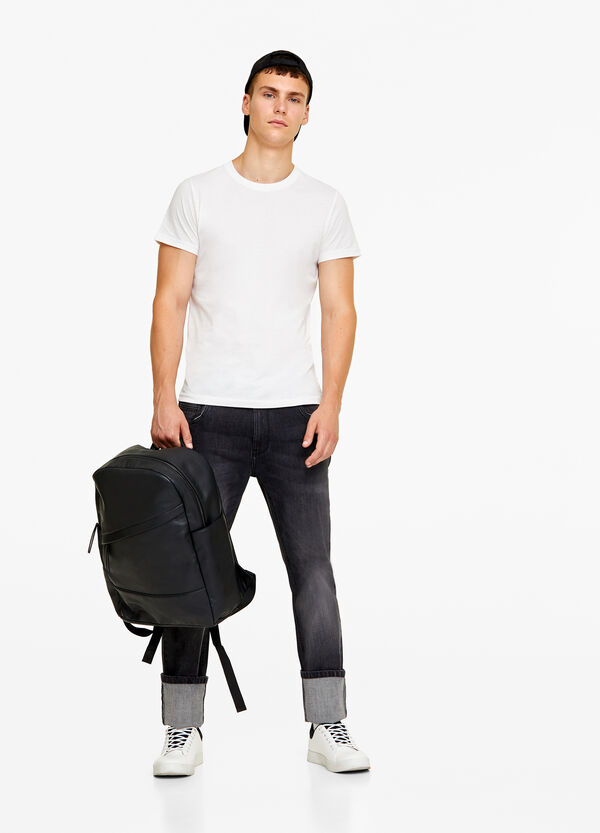 Jeans comfort fit stone-washed