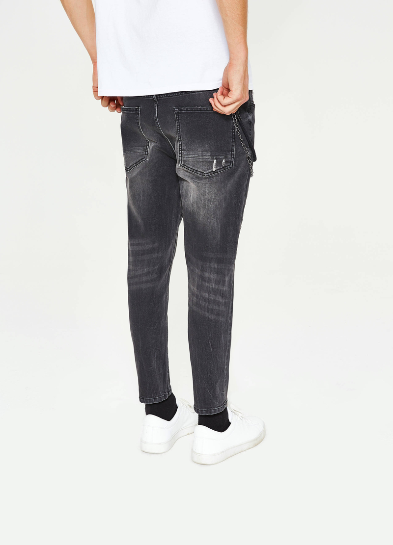 Jeans stretch used con catena image number null