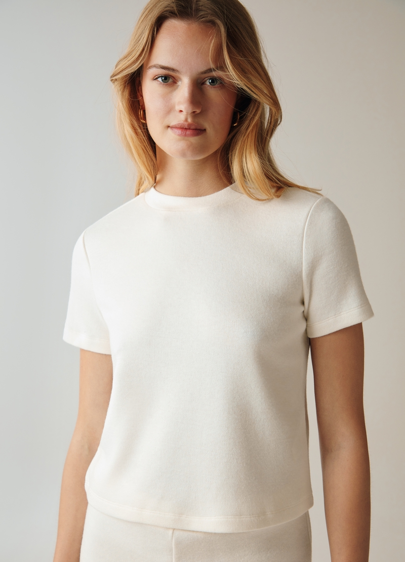 PIOMBO T-shirt girocollo in maglia image number null