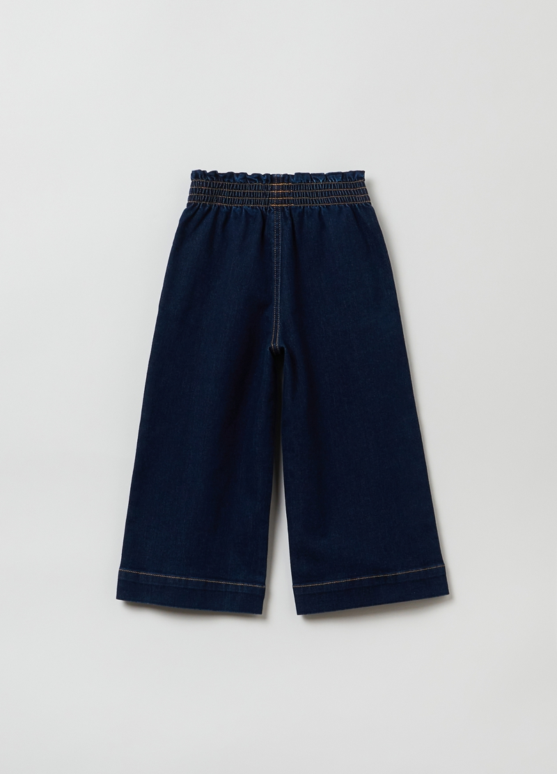 Jeans modello culotte image number null