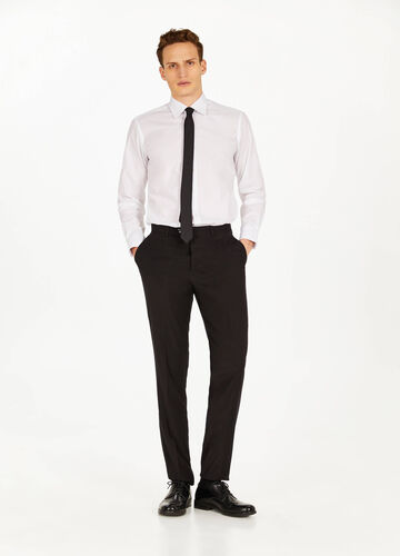 Pantaloni eleganti regular fit stretch