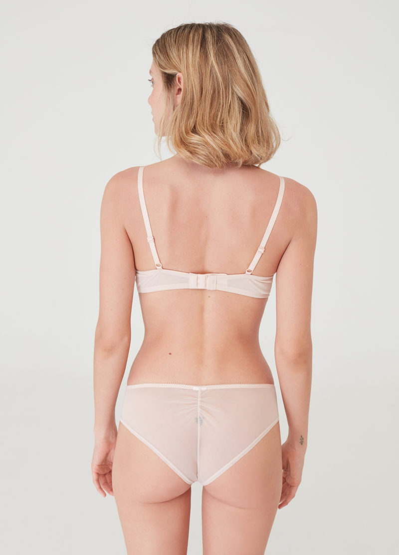 Culotte stretch ricamo rombi image number null