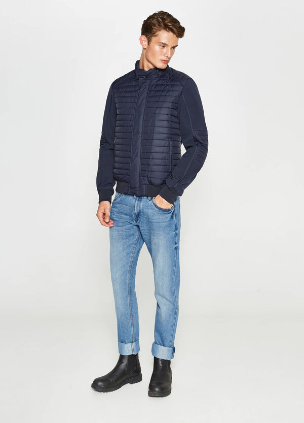 Down jacket with pull-out hood | OVS
