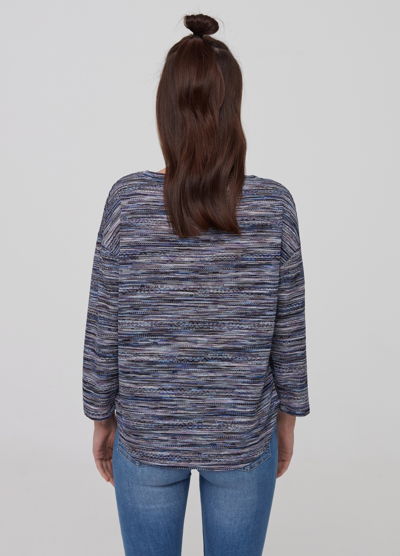 Top with mélange lurex image number null