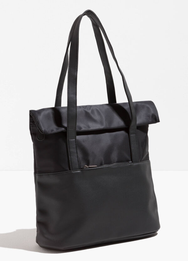 Shopping bag a due manici tinta unita | OVS