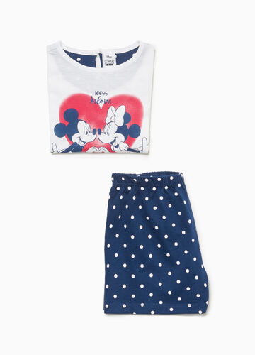 Mickey and Minnie Mouse pyjamas