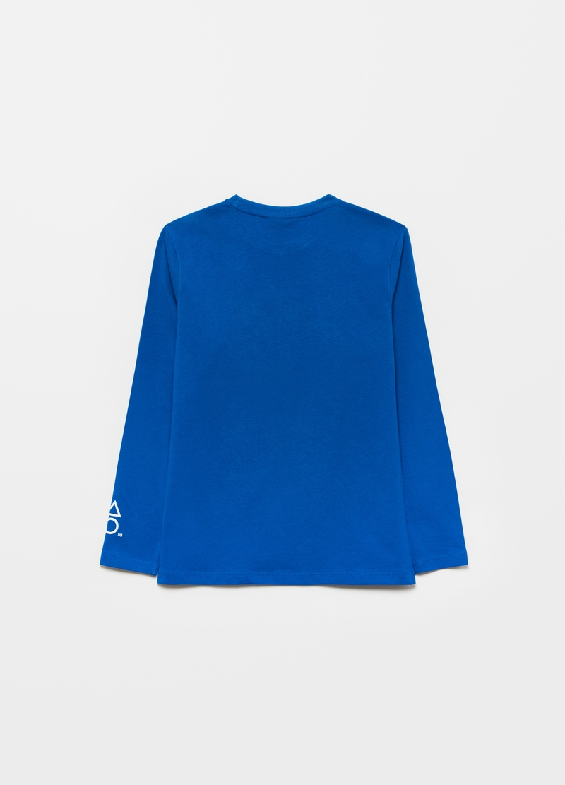 PlayStation T-shirt in cotton with long sleeves image number null