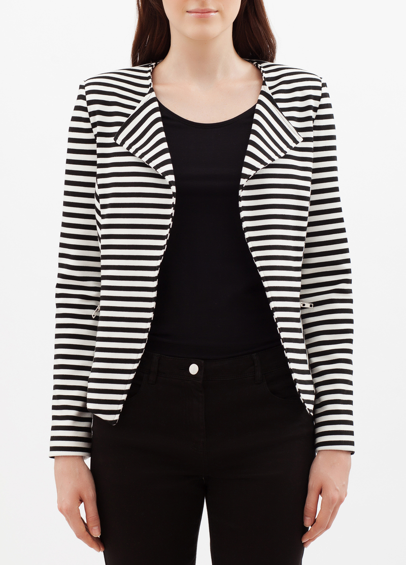 Striped jacket image number null