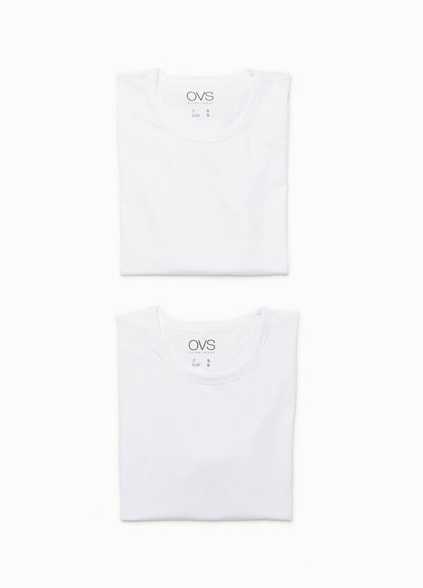 Set due t-shirt cotone stretch | OVS