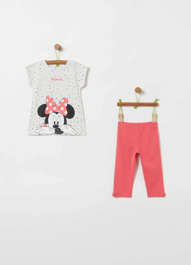 Jogging set in cotone bio Disney Minnie image number null