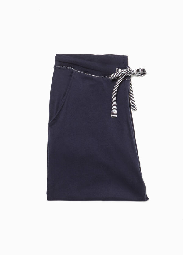 Pyjama trousers in 100% cotton