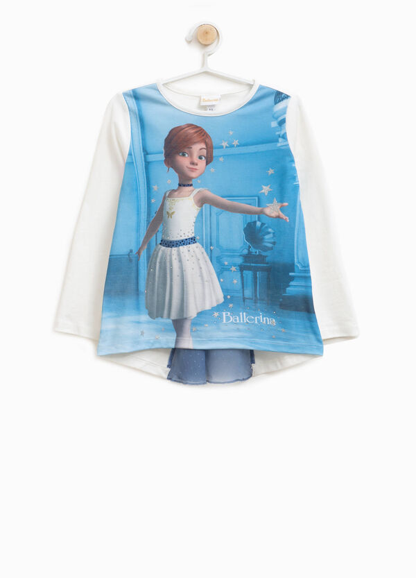 T-shirt cotone stretch Ballerina
