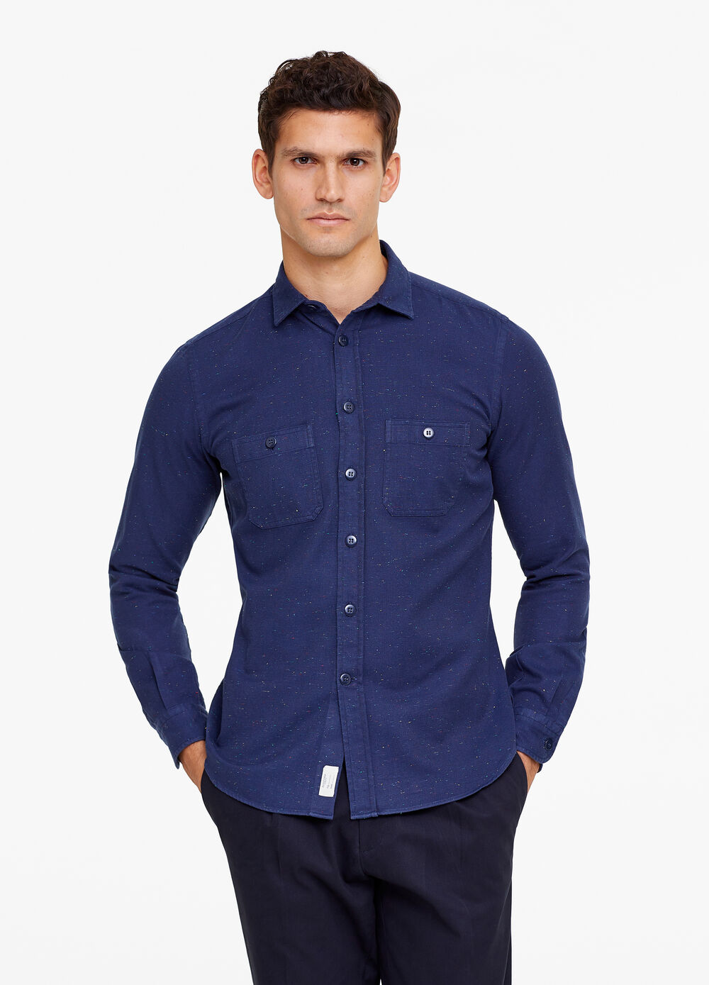 Rumford shirt with pocket