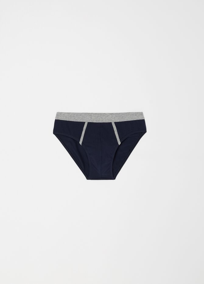 Two-pack patterned stretch briefs