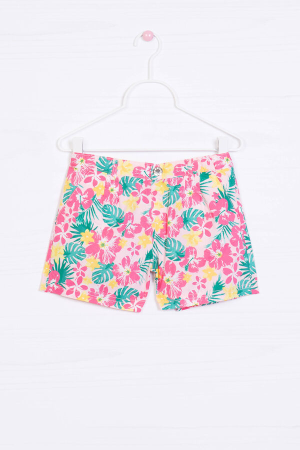 Patterned shorts in 100% cotton | OVS