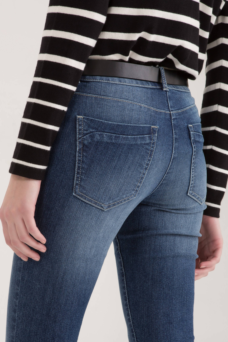 Jeans stretch effetto used image number null