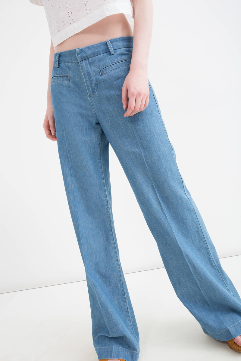 Jeans flare fit a vita alta image number null