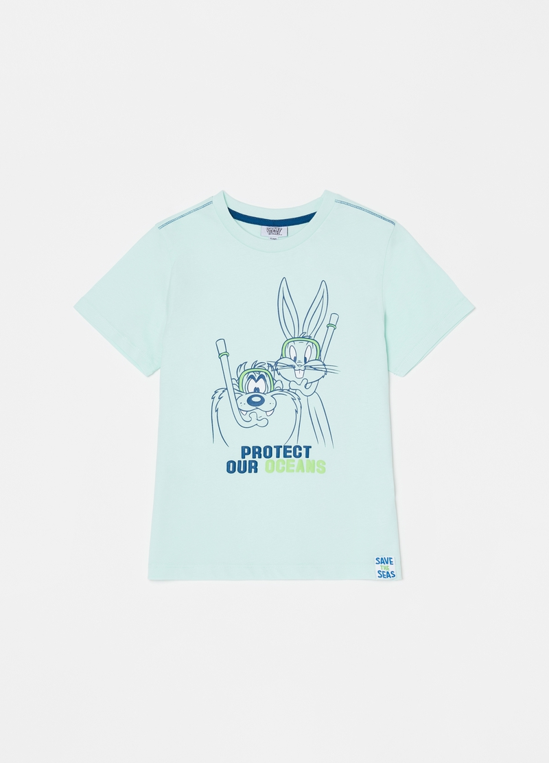 Short pyjamas with Looney Tunes print image number null