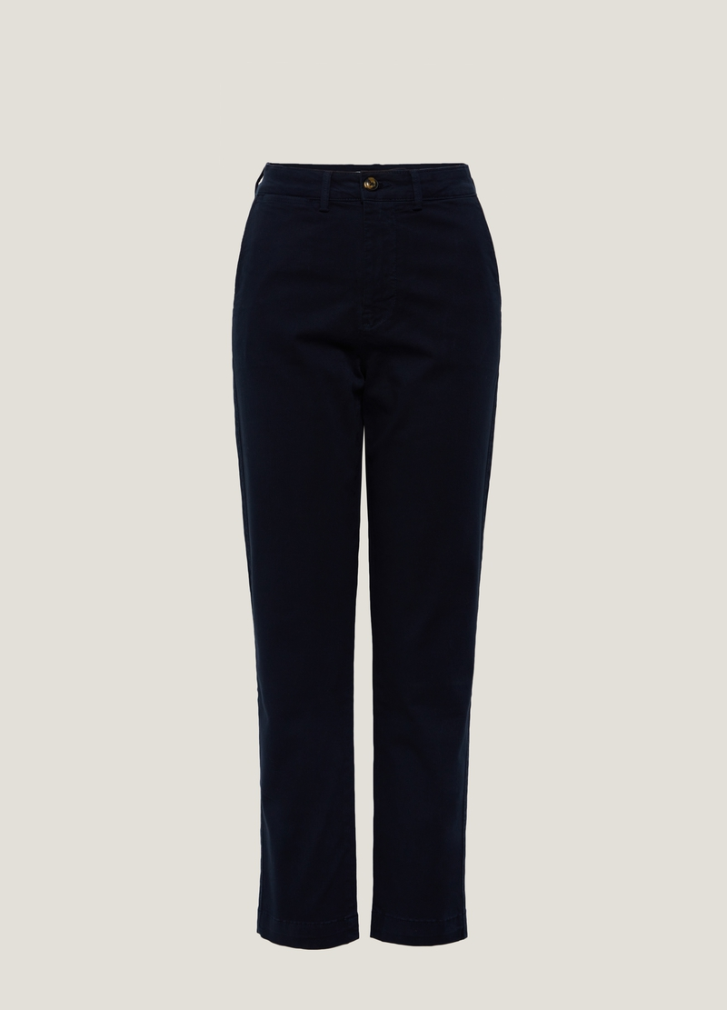 PIOMBO stretch chino trousers image number null
