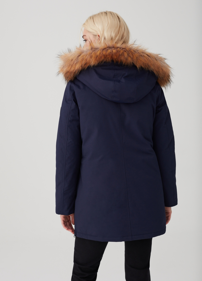 Altavia parka with faux fur trim insert image number null