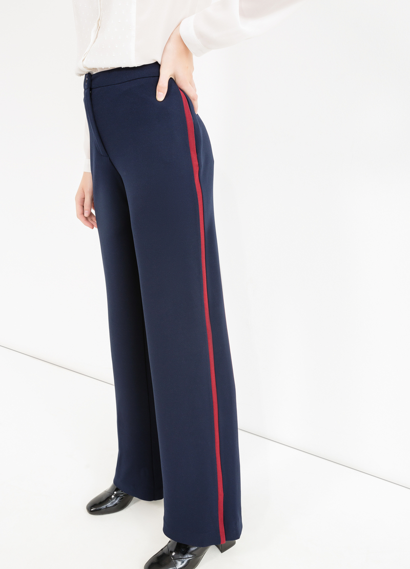 Elegant stretch trousers image number null