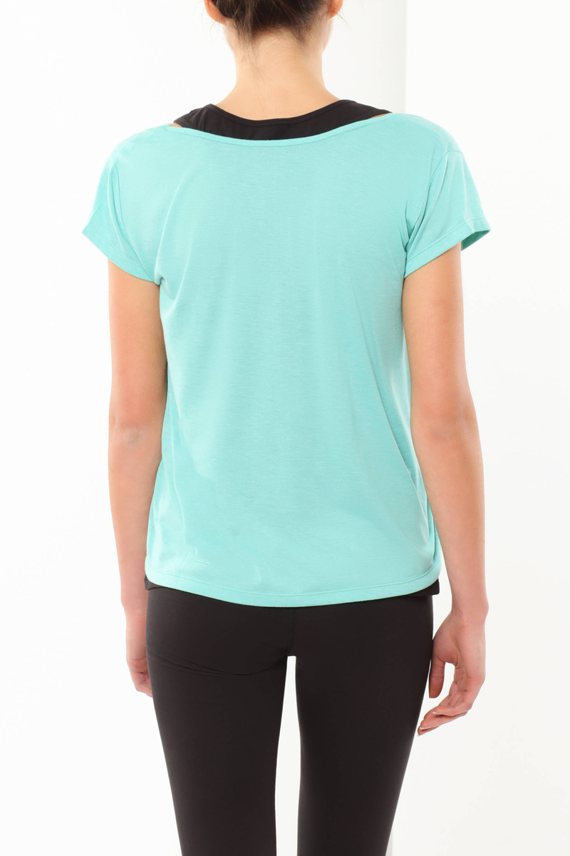 Round neck T-shirt image number null
