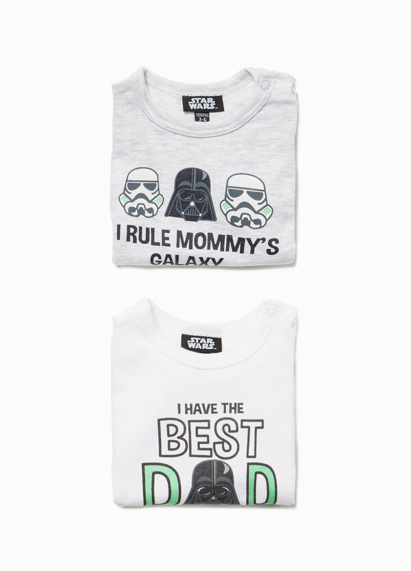 Set due body cotone stampa Star Wars