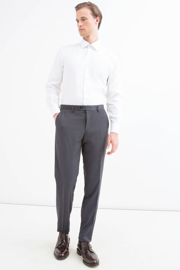 Pantaloni misto viscosa stretch | OVS
