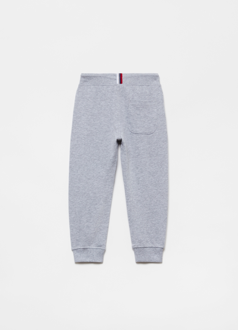 Joggers in French Terry cotone e viscosa image number null