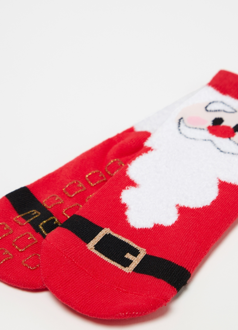 Father Christmas slipper socks image number null
