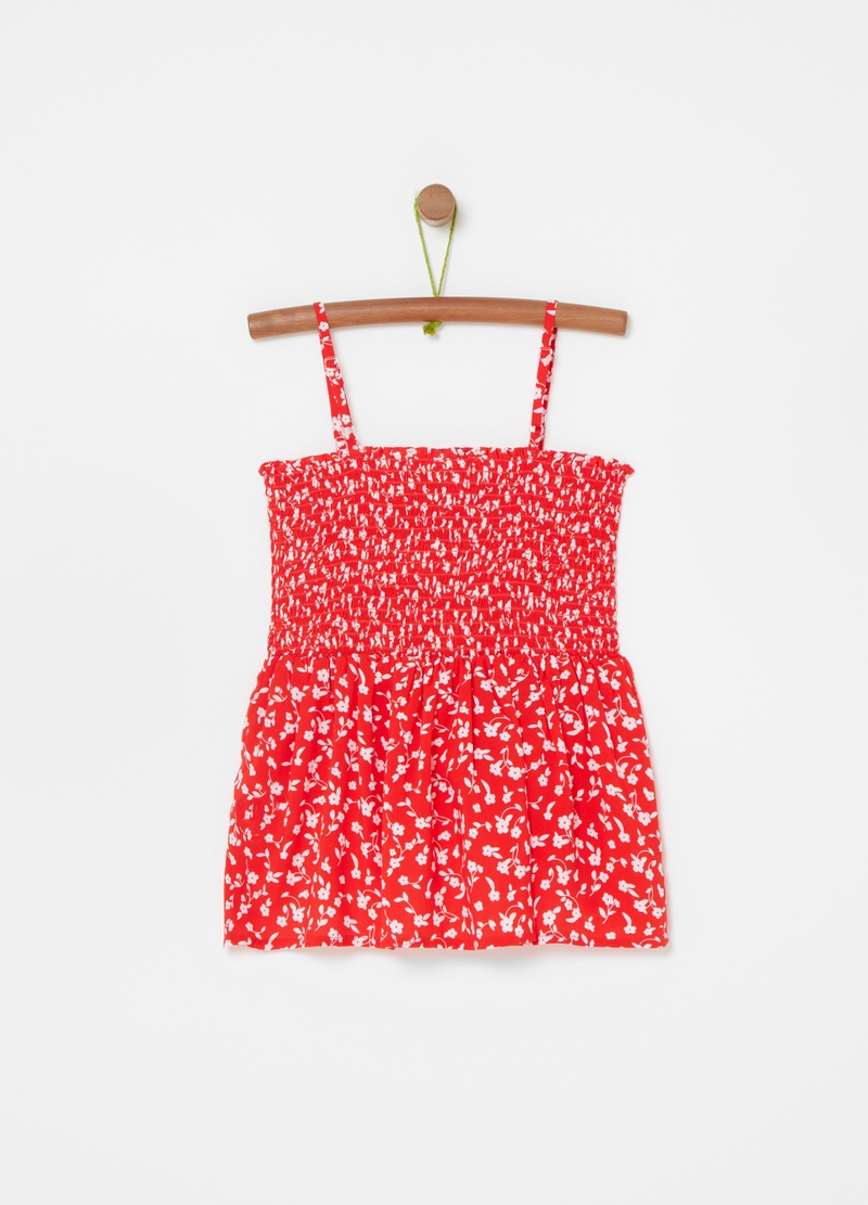Tank top pura viscosa stampa all-over image number null
