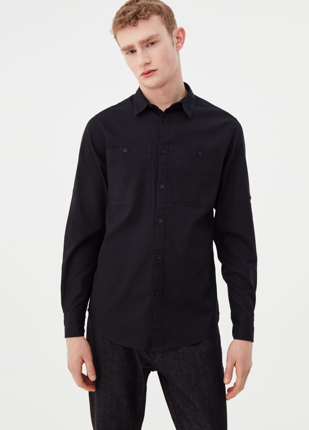 Casual shirt with pockets