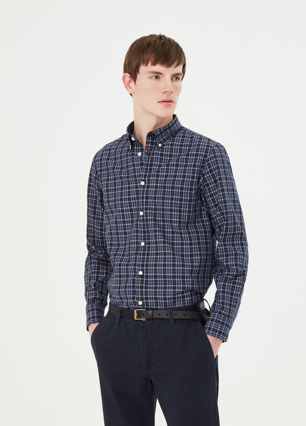 Camicia regular fit button-down