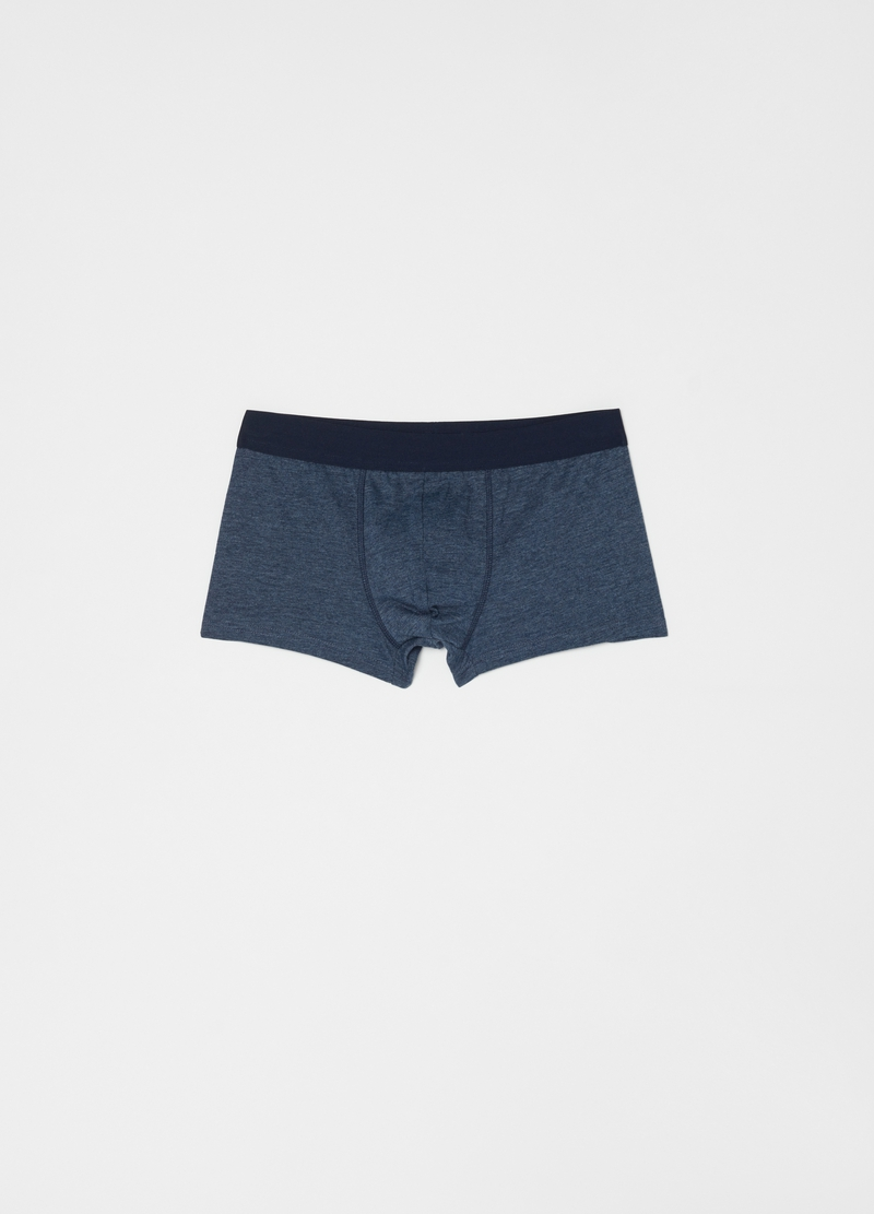 Five-pack boxers in 100% organic cotton image number null
