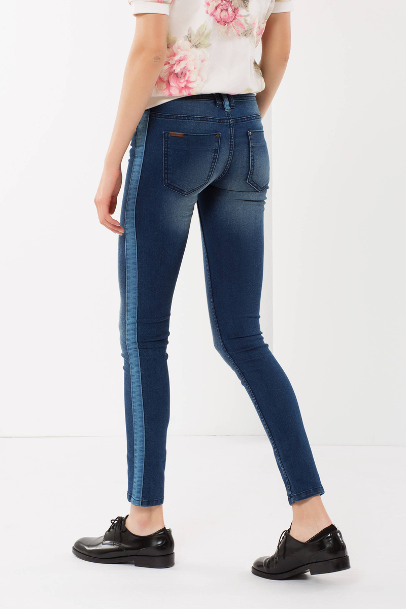 Five pocket jeans image number null