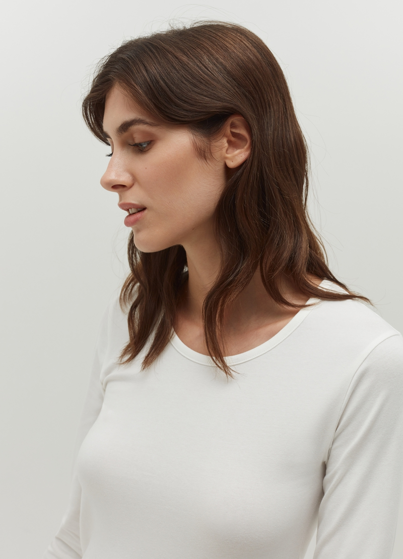 Undershirt with long sleeves image number null