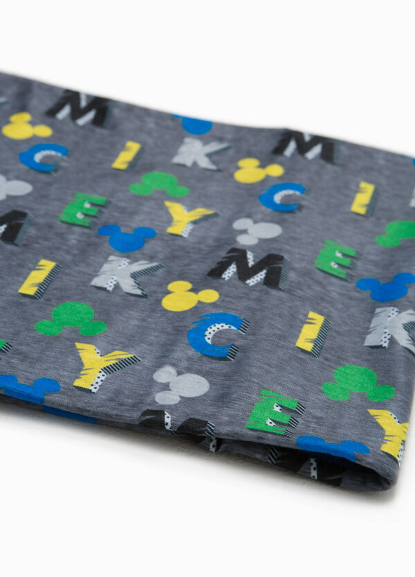 Mickey Mouse patterned scarf | OVS