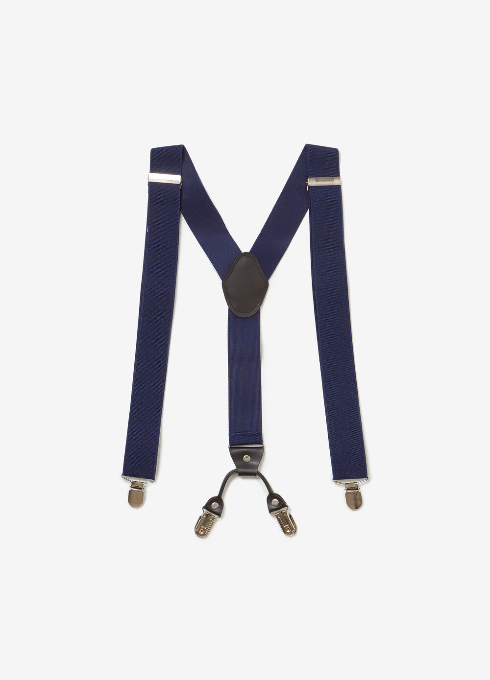 Adjustable braces with clip