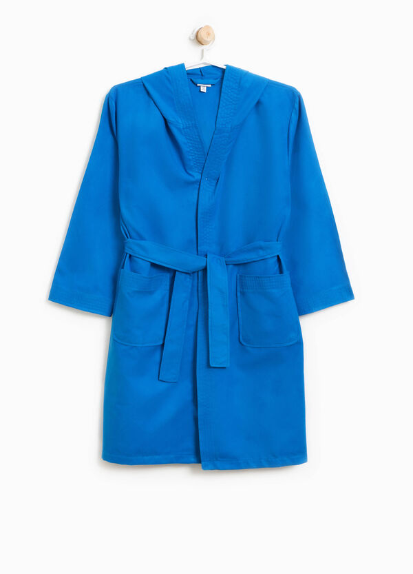 Bathrobe with hood and two pockets | OVS