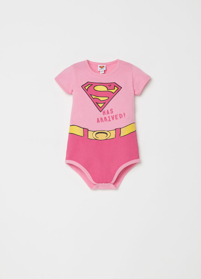 Body in puro cotone fantasia Superman