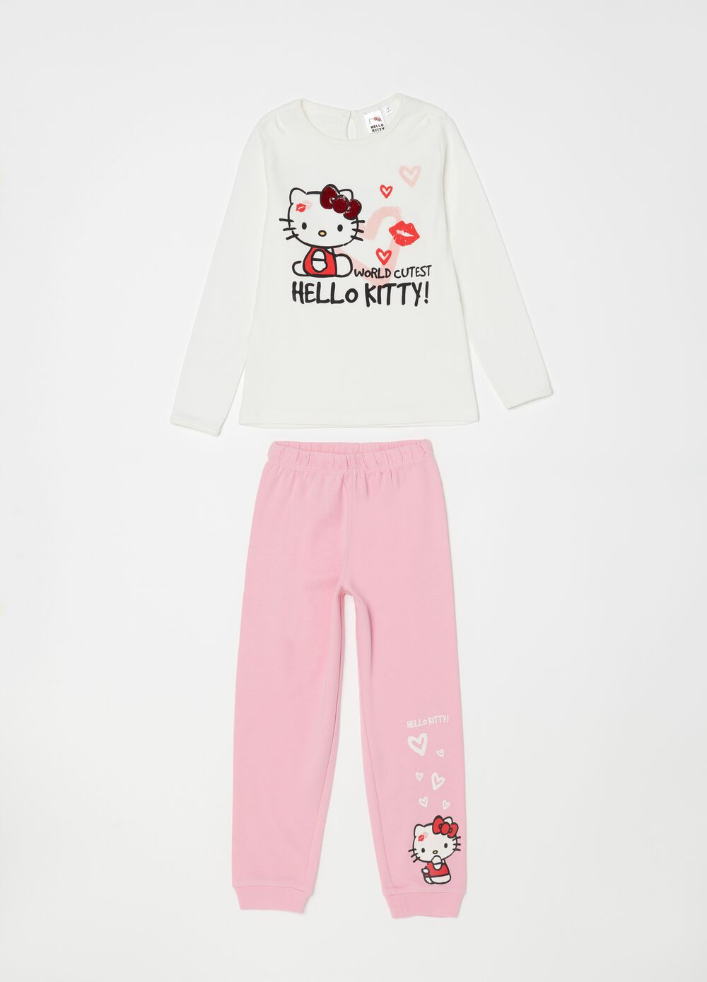 Pigiama puro cotone Hello Kitty