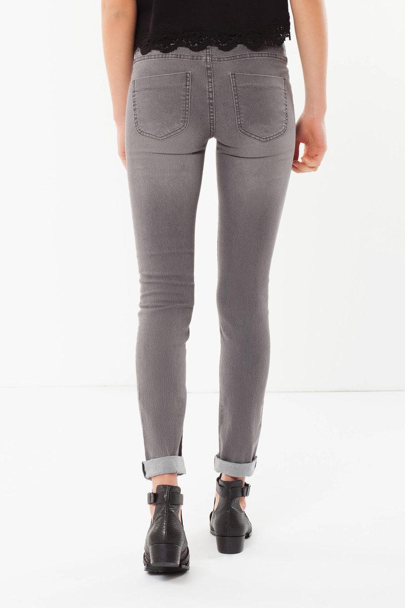 Skinny fit high-waisted jeans image number null