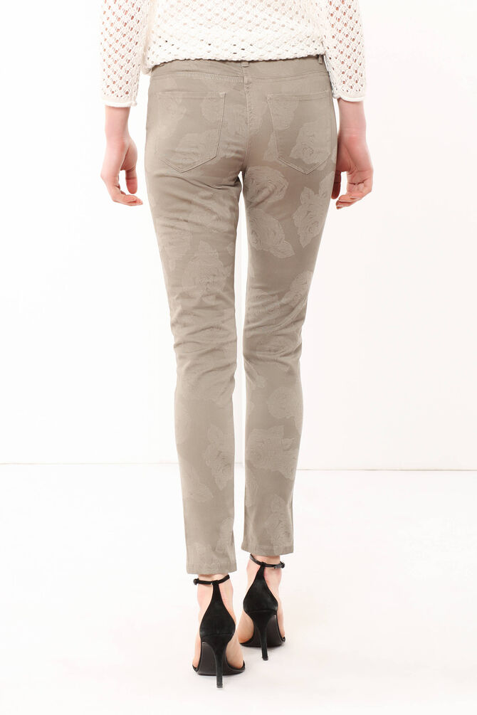 Patterned trousers