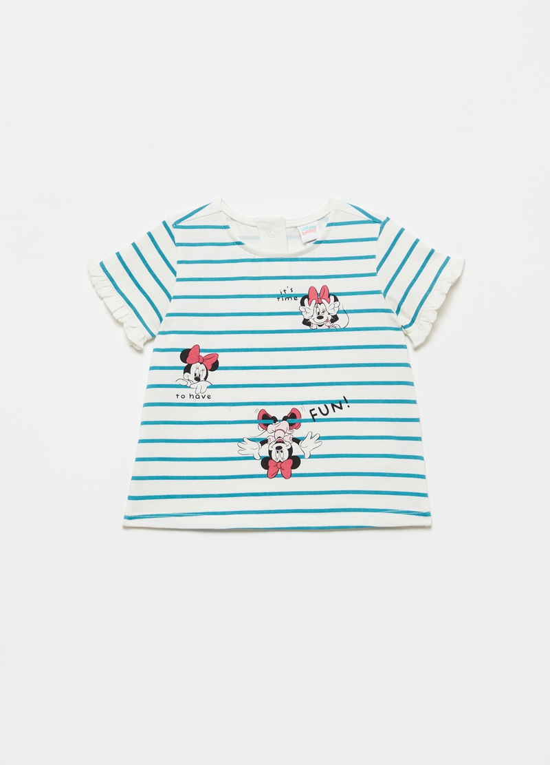 T-shirt with Disney Minnie Mouse frills image number null