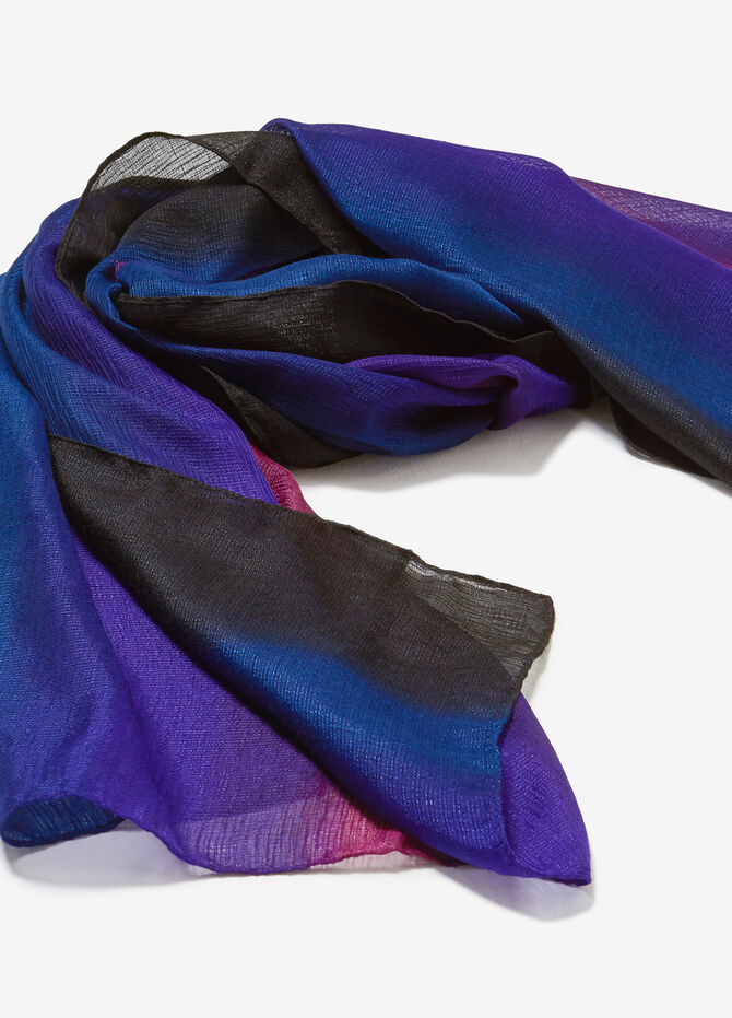 Multicoloured blended pashmina